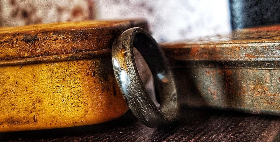 Grey Birdseye Maple Ring