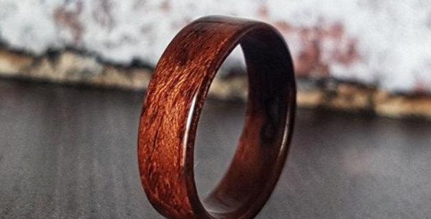 Figured Bubinga Ring