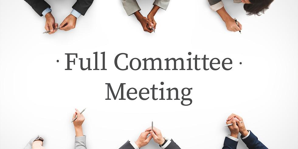 Tentative Full Committee Meeting