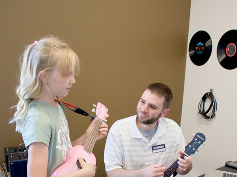 Kyle Teaches Ukelele and Guitar