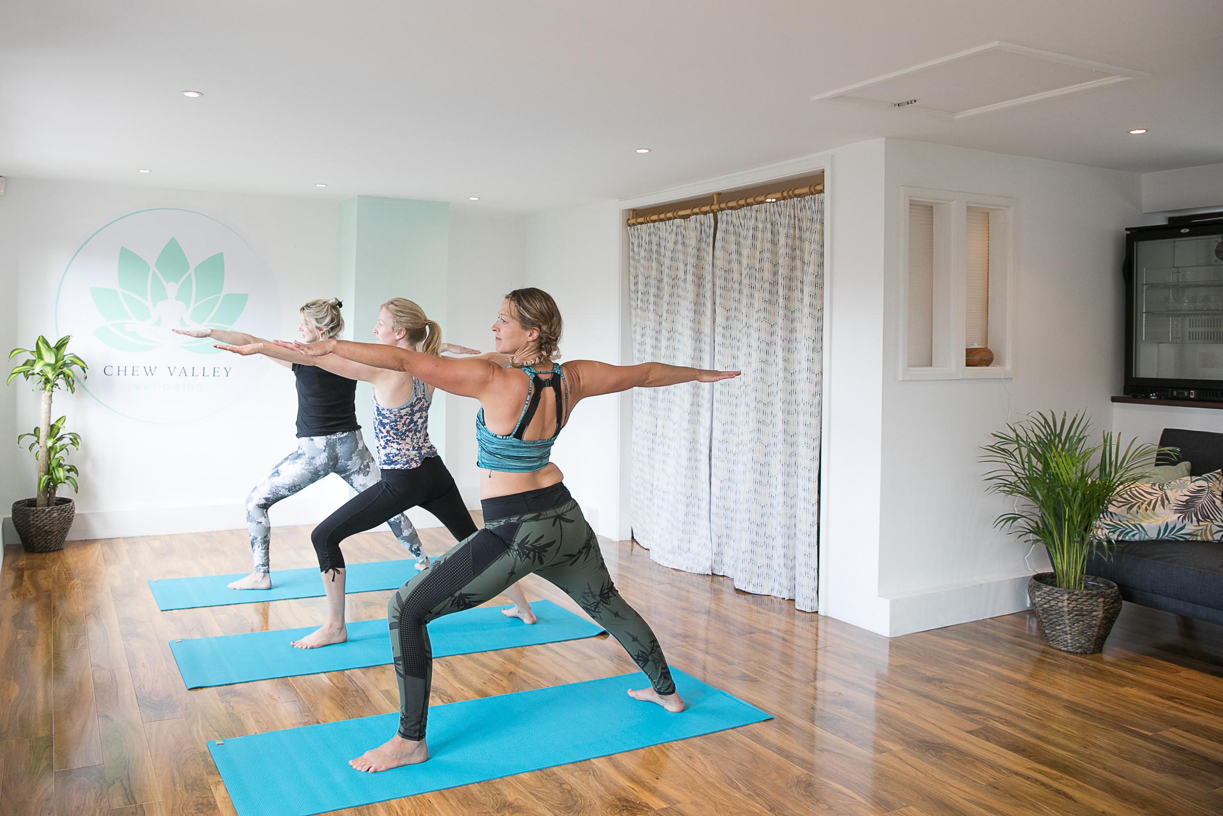Yoga In the Studio