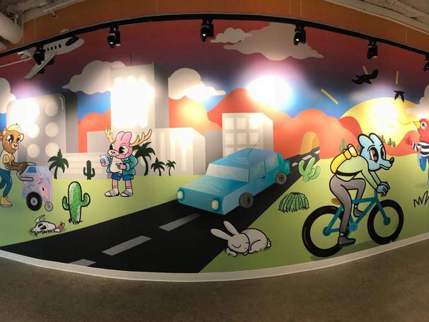 Illustrative Wall Wrap