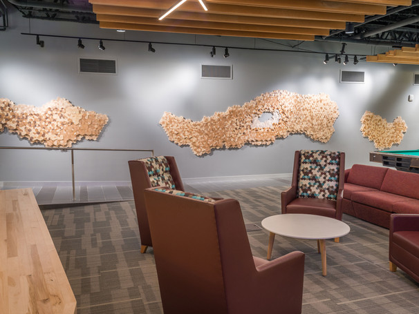 Reclaimed Wood Installation