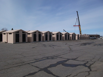 Precast Concrete Washrooms - MTO Northwest Region