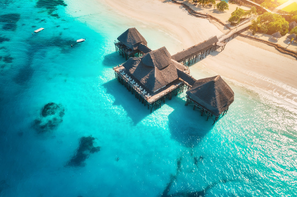 aerial-view-of-beautiful-hotel-on-the-water-in-DBGH8JS.jpg