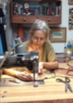 Karen Victoria in the studio.jpg