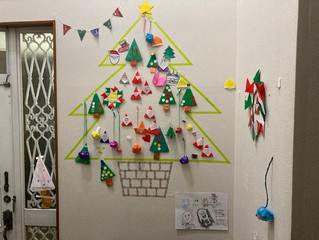 素敵なクリスマスツリーができました!