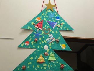 クリスマスツリーが出来ました!