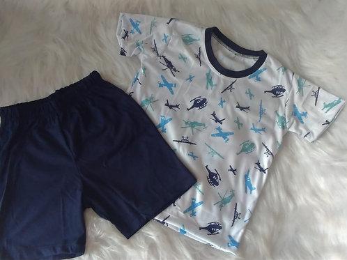 Pijama Mini Aeronave