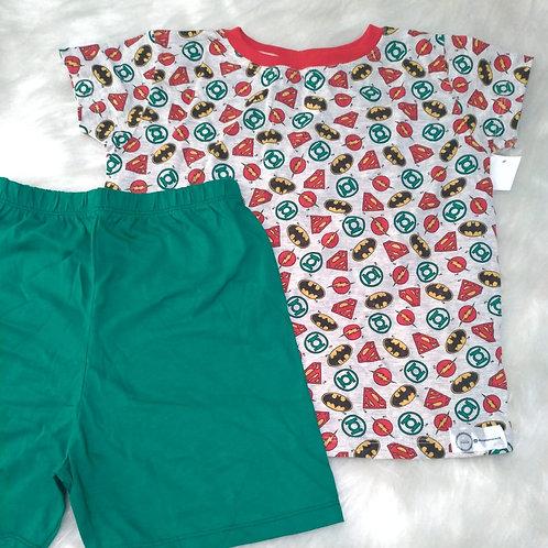 Pijama liga da justiça (tamanho 06)