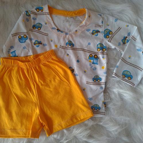 Pijama Trenzinho