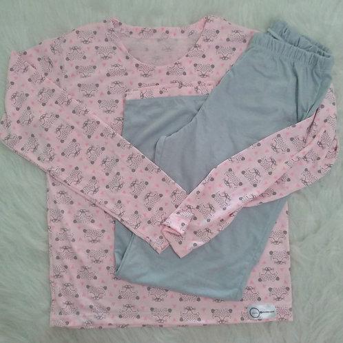 Pijama gatinho (tamanho 10)