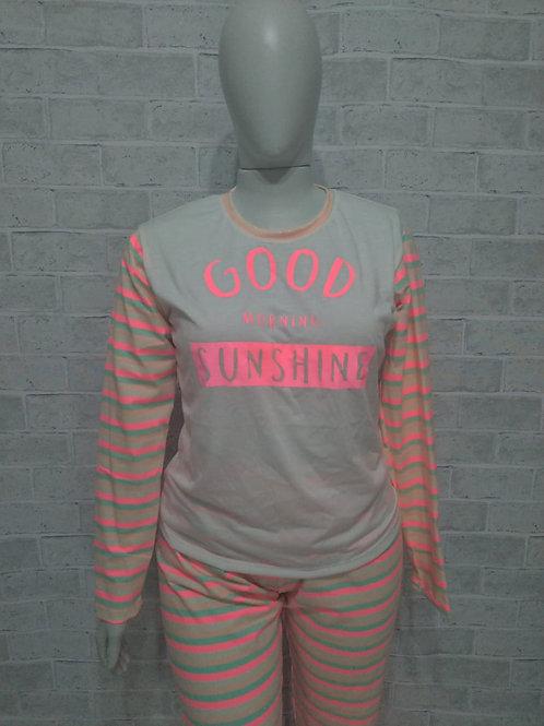Pijama Sunshine Neon - Tam. G