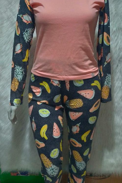 Pijama Frutas - P