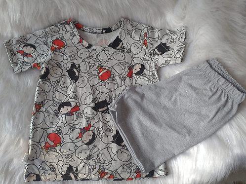 Pijama Super Heróis Baby