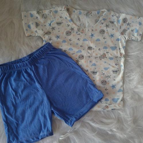 Pijama Céu Azul