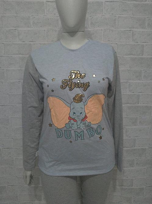 Pijama Dumbo modelo fusô - Tam. GG