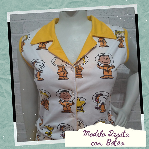 Pijama Adulto em MALHA - Encomenda