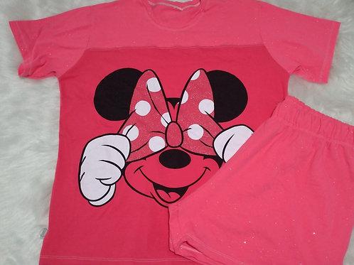 Pijama Minnie glitter - Tam EG