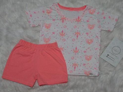 Pijama Princesas (tamanho 04)