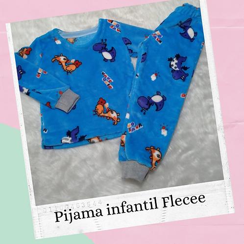 Pijama Infantil Flecee - ENCOMENDA