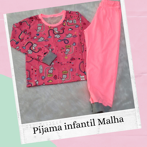 Pijama infantil malha - ENCOMENDA