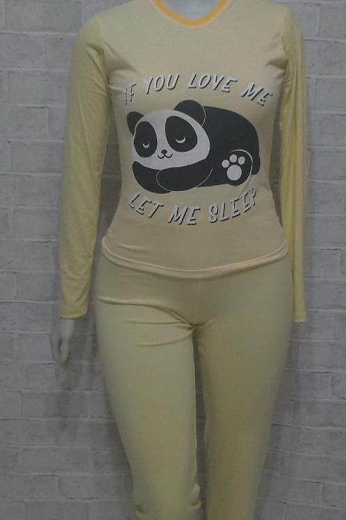 Pijama Love Panda - Tam. PP