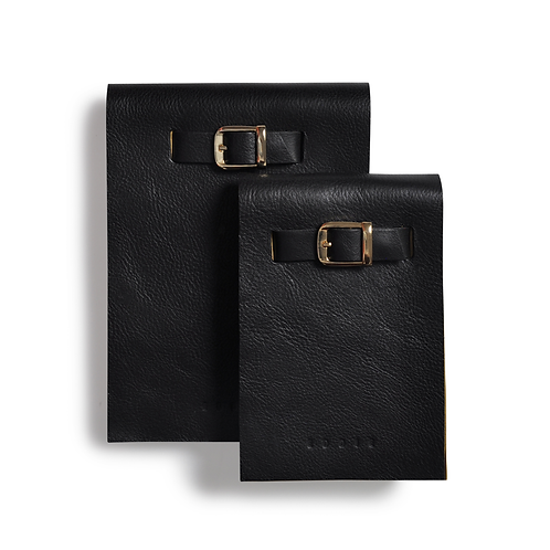 Notepad In Black Gift Set