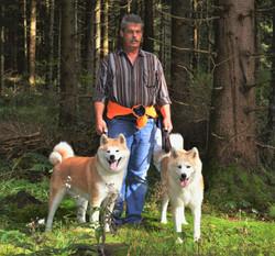 Erhard_mit_Hunden_Rhön