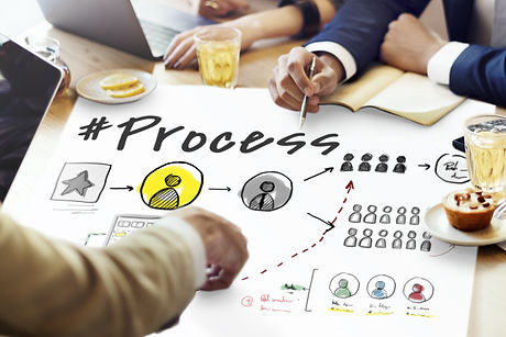 Process Network Workflow Teamwork Infogr