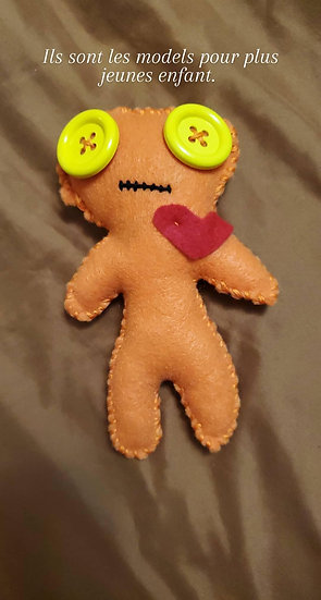 Voodoo doll -For younger