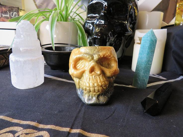 Crâne - Black & gold