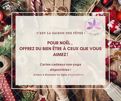 Crème et Rouge Noël personnel Publicatio