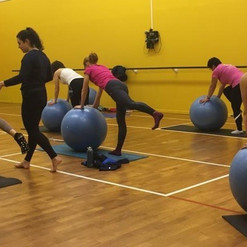 #Pilates swissball