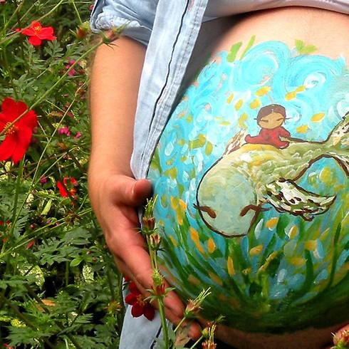 Arte en vientre