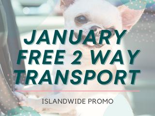 January Islandwide Transport Promo