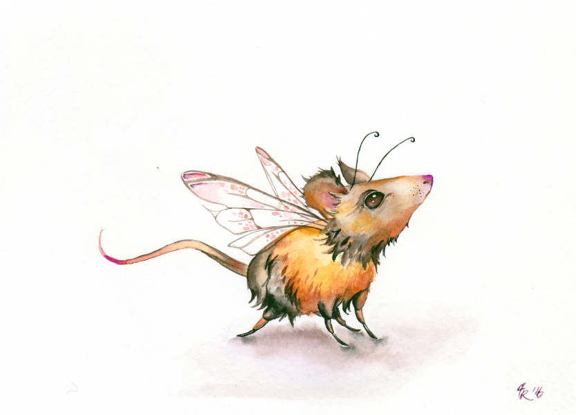 """Scarlet-Nosed Bumblemouse"""