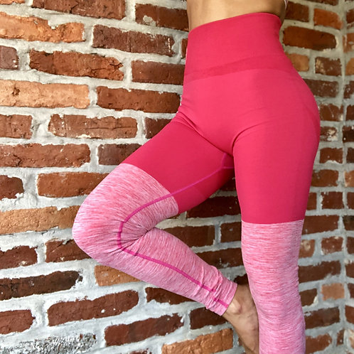Bubble Pink Seamless PRO High Knee Booty Plumper