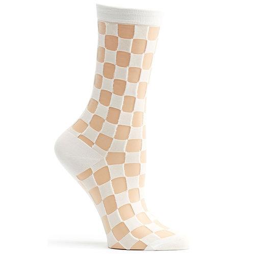 Sheer Square Sock