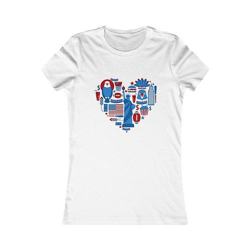American Heart Women Tee