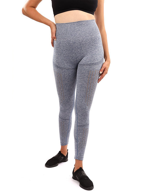Emmery Seamless Legging - Blue