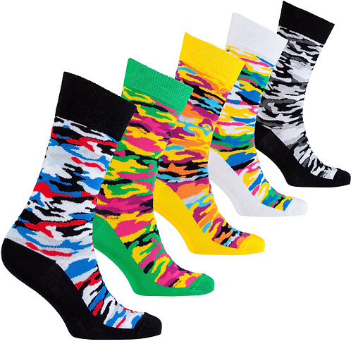 Men's Camouflage Socks