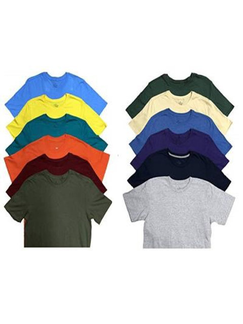 Solid/Assorted color T-shirt's