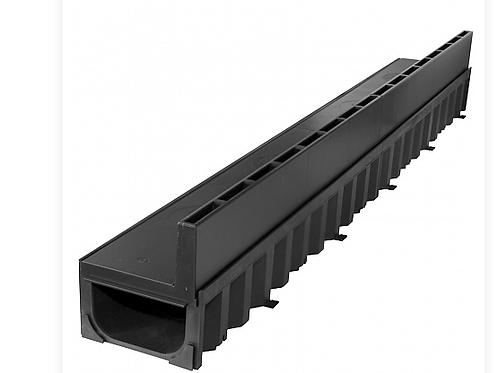 Aco Hexaline Slotline 2.0 zwart 100 cm