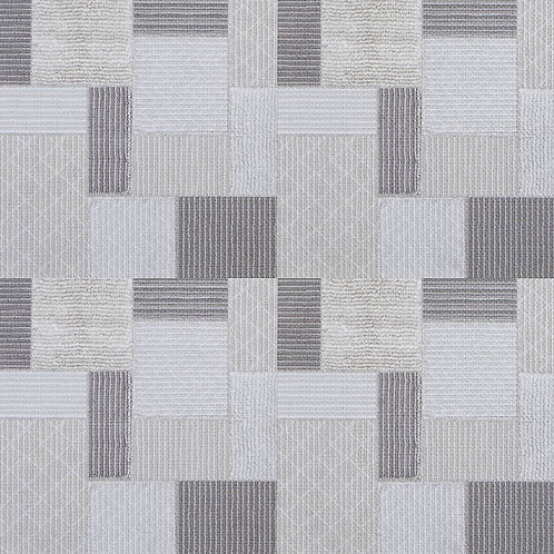 GeoCeramica Canvas Boucle. kleur Patchwork 60 x 60 x 4