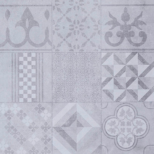 GeoCeramica Mosaik, kleurGrey 60 x 60 x 4