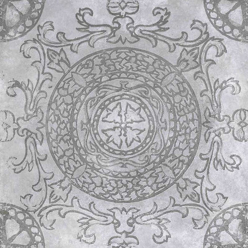 Geoceramica Symbol kleur Circle Smoke 60x60x4