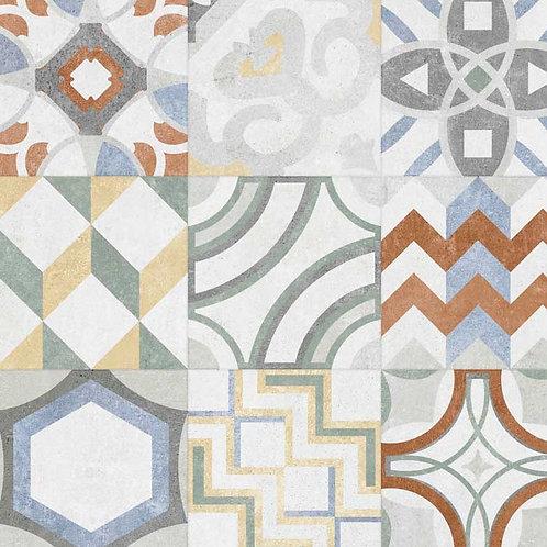 GeoCeramica Porto, kleur Mix 60 x 60 x 4