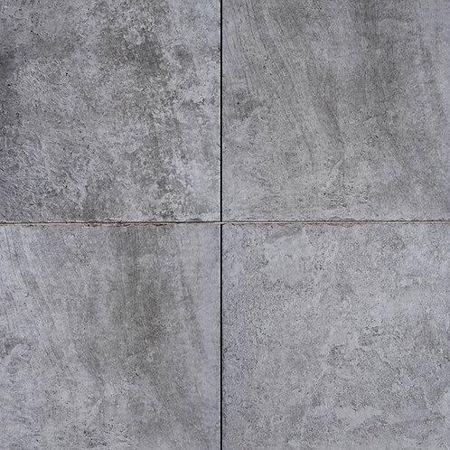 GeoCeramica Vecchia, kleur Antra/Grey 60 x 60 x 4