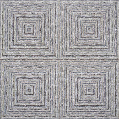 GeoCeramicacanvas Boucle. kleur Mix 60 x 60 x 4